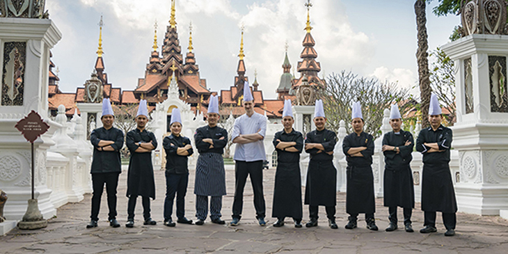 Ten Talented Thai Chefs Showcase Thai Gastronomy at ATF 2018 Gala Opening