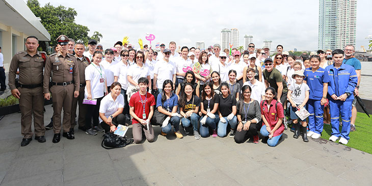 Clean Up Bangkok River 2018